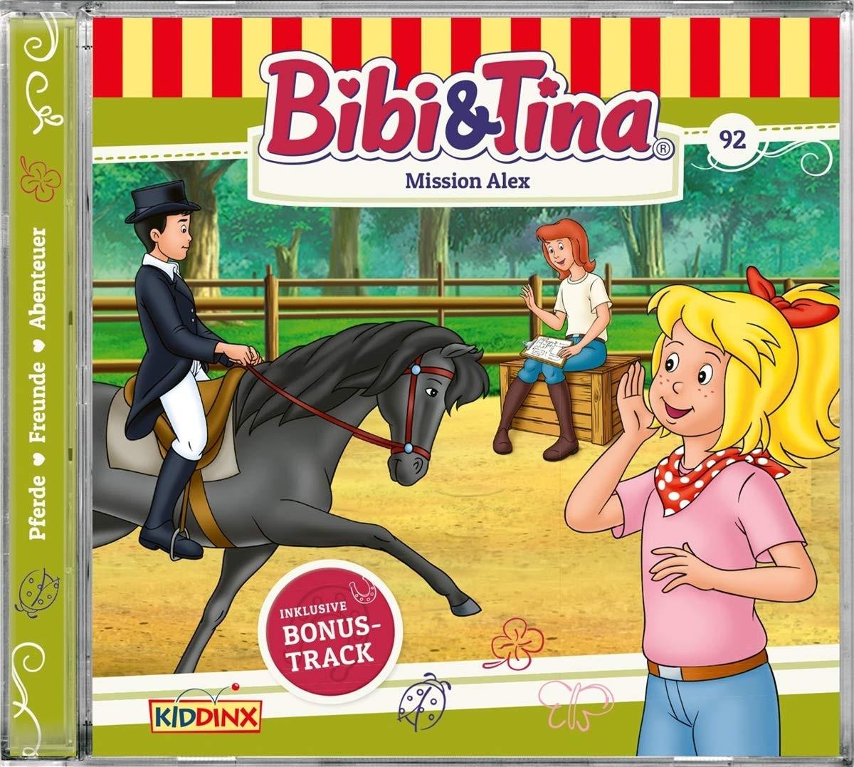 Bibi und Tina - Folge 92: Mission Alex (CD)
