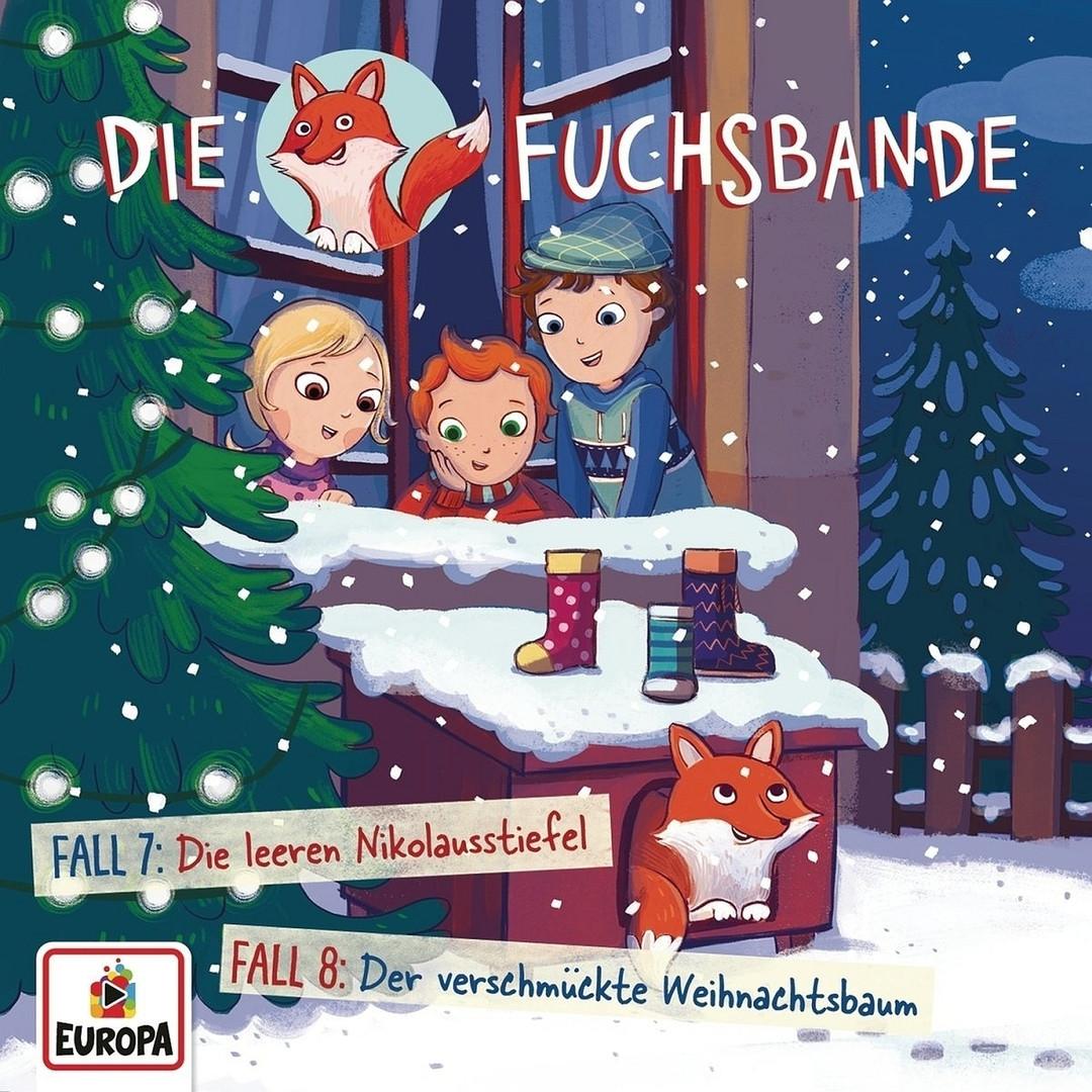 Die Fuchsbande - Folge 4: Fall 7: Die leeren Nikolausstiefel/ Fall 8: Der verschmückte Weihnachtsbaum