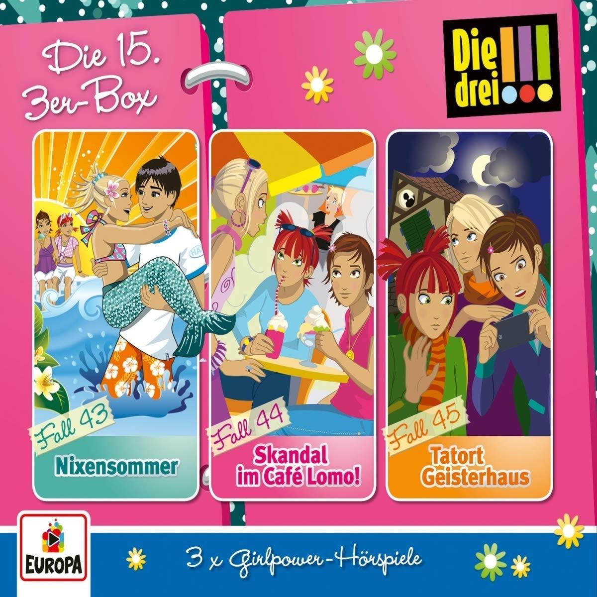 Die drei Ausrufezeichen - Die 15. 3er-Box (Folgen 43, 44, 45)