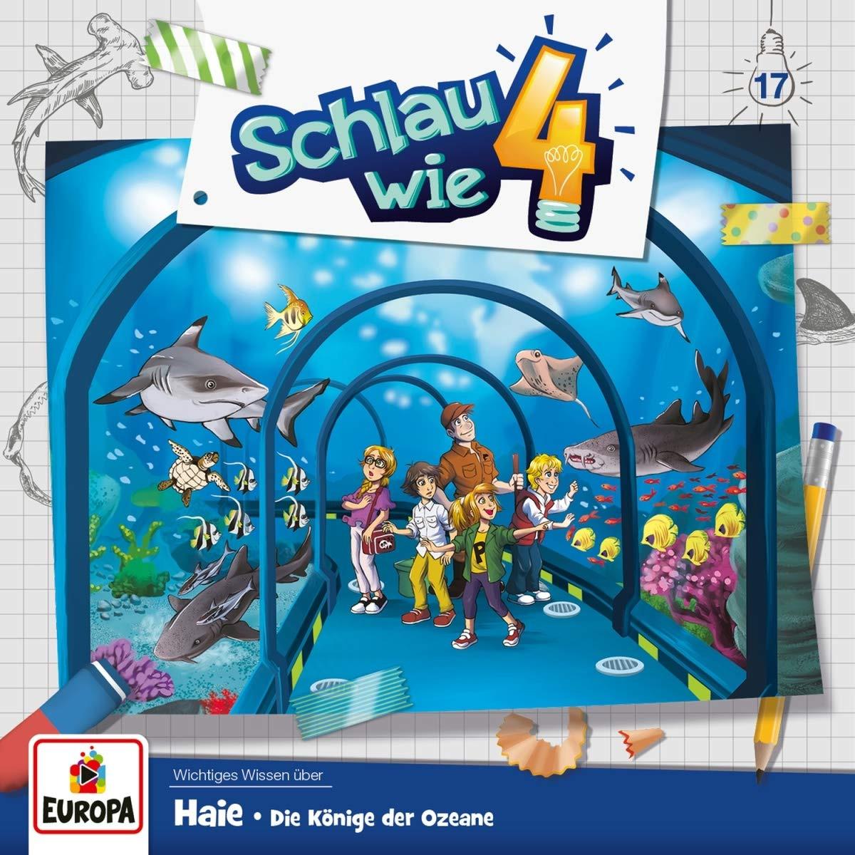 Schlau wie Vier - Folge 17: Haie - Die Könige der Ozeane