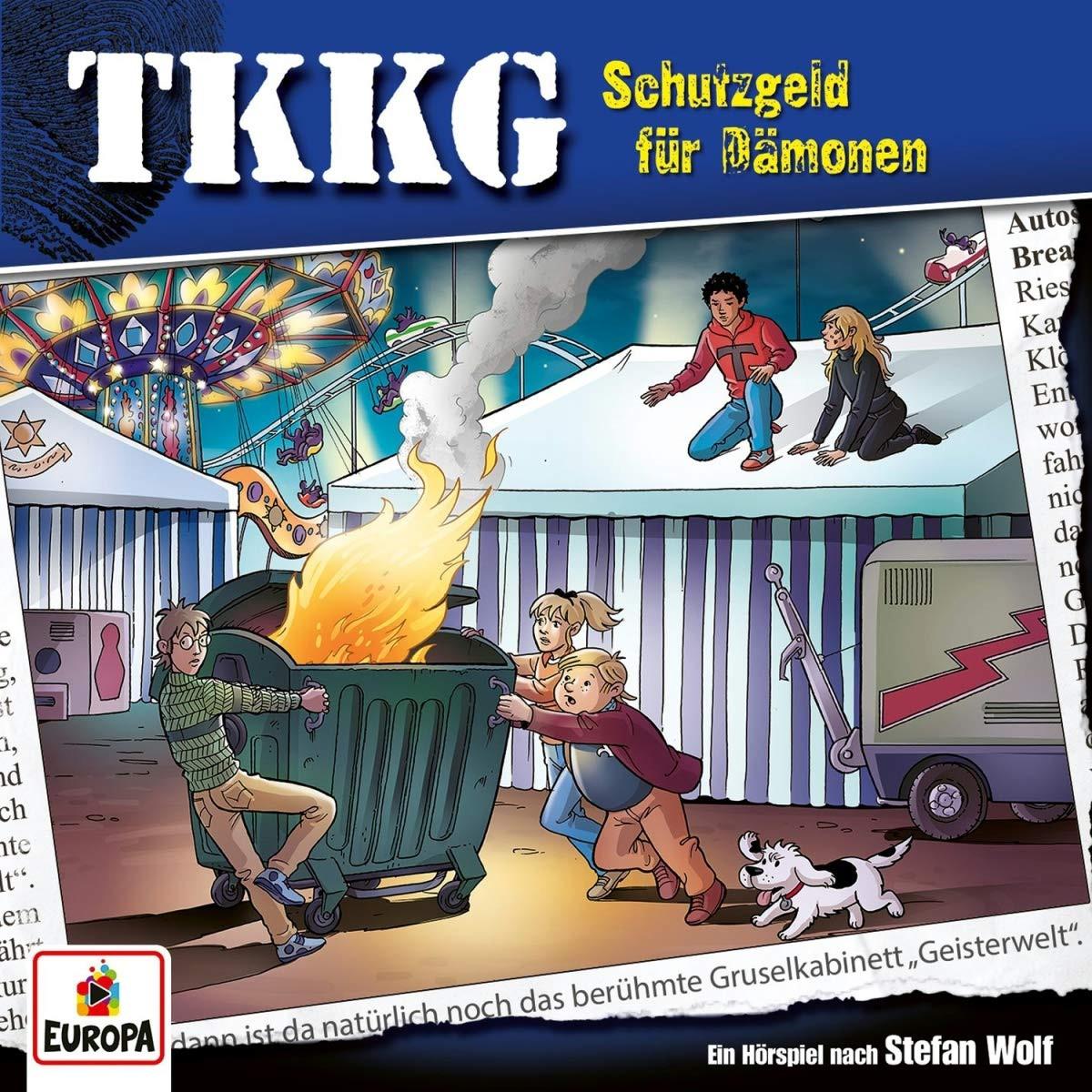TKKG - Folge 218: Schutzgeld Für Dämonen