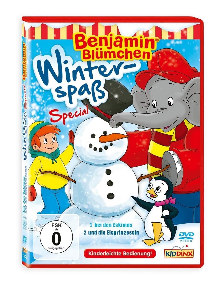 Benjamin Blümchen - Winterspaß (bei den Eskimos / und die Eisprinzessin)