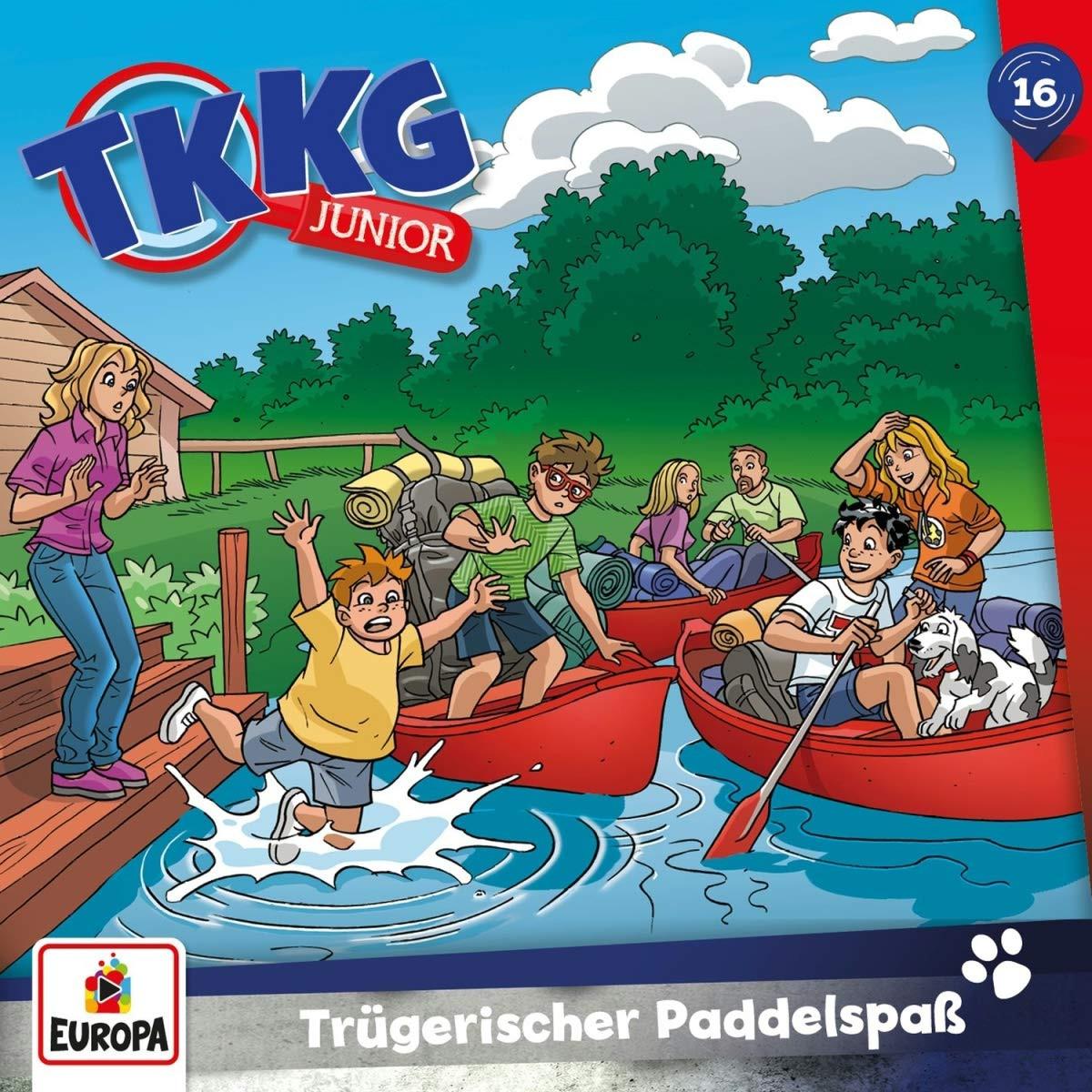 TKKG Junior - Folge 16: Trügerischer Paddelspaß