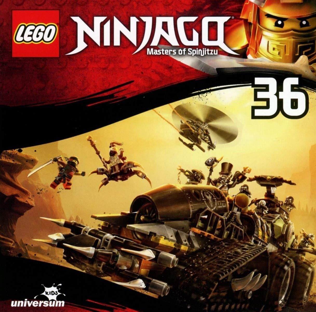 LEGO Ninjago 9. Staffel (CD 36)