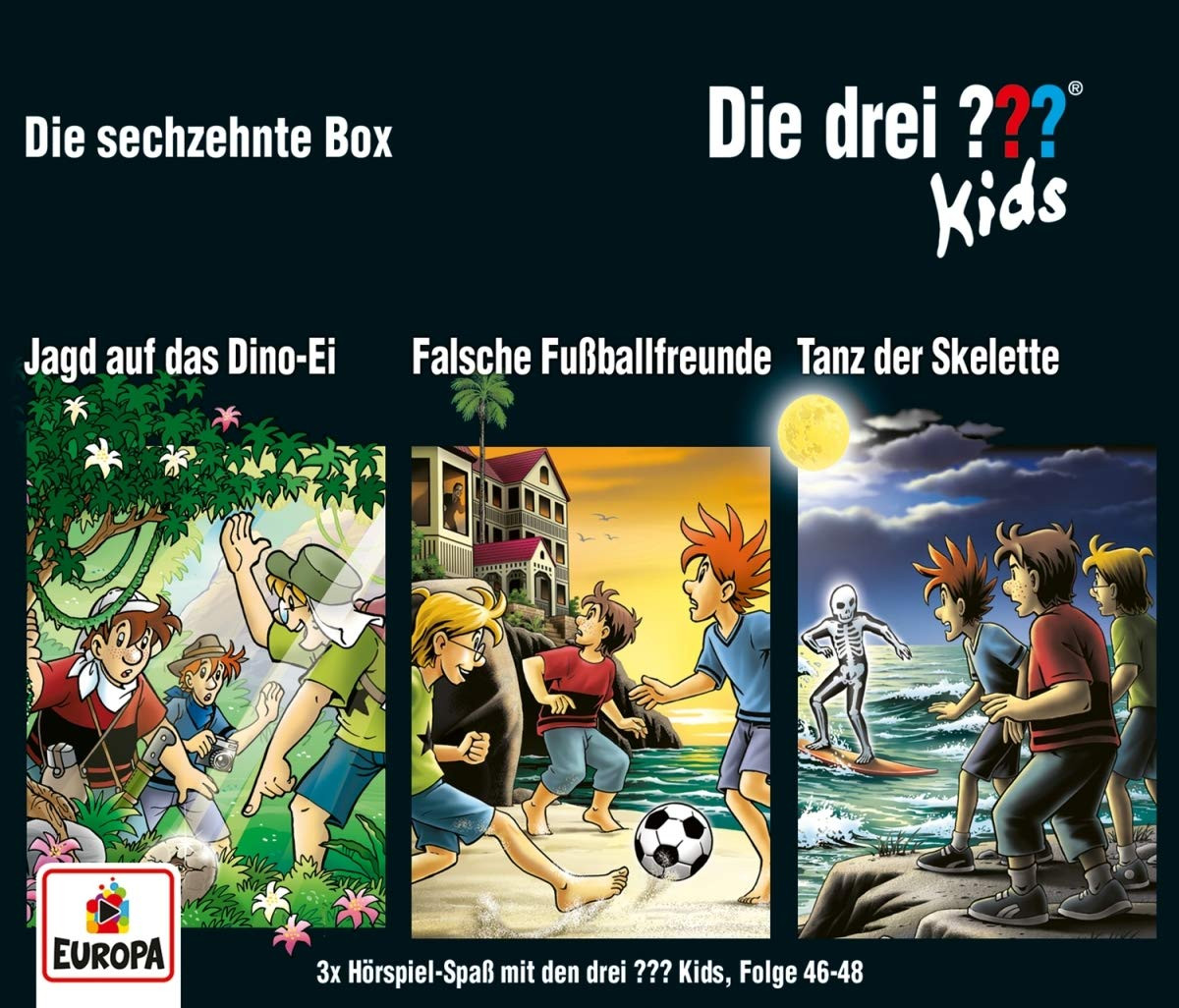 Die drei ??? Fragezeichen Kids - Die sechzehnte Box (Folge 46, 47, 48)