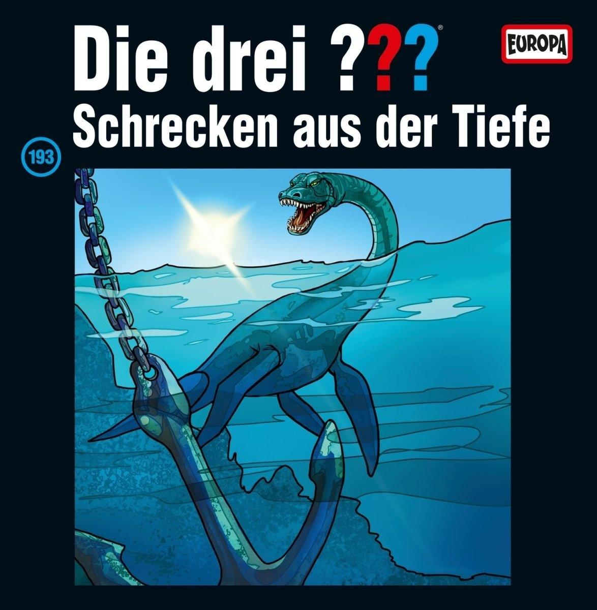 Die drei ??? Fragezeichen - Folge 193: Schrecken aus der Tiefe (LP)