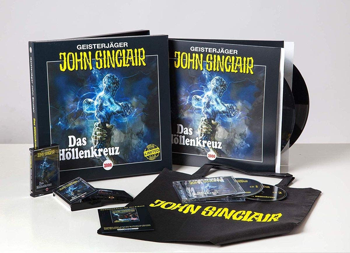 John Sinclair - Das Höllenkreuz Box Limited Edition
