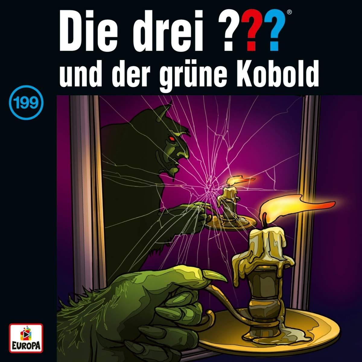 Die drei ??? Fragezeichen - Folge 199: und der grüne Kobold (LP)