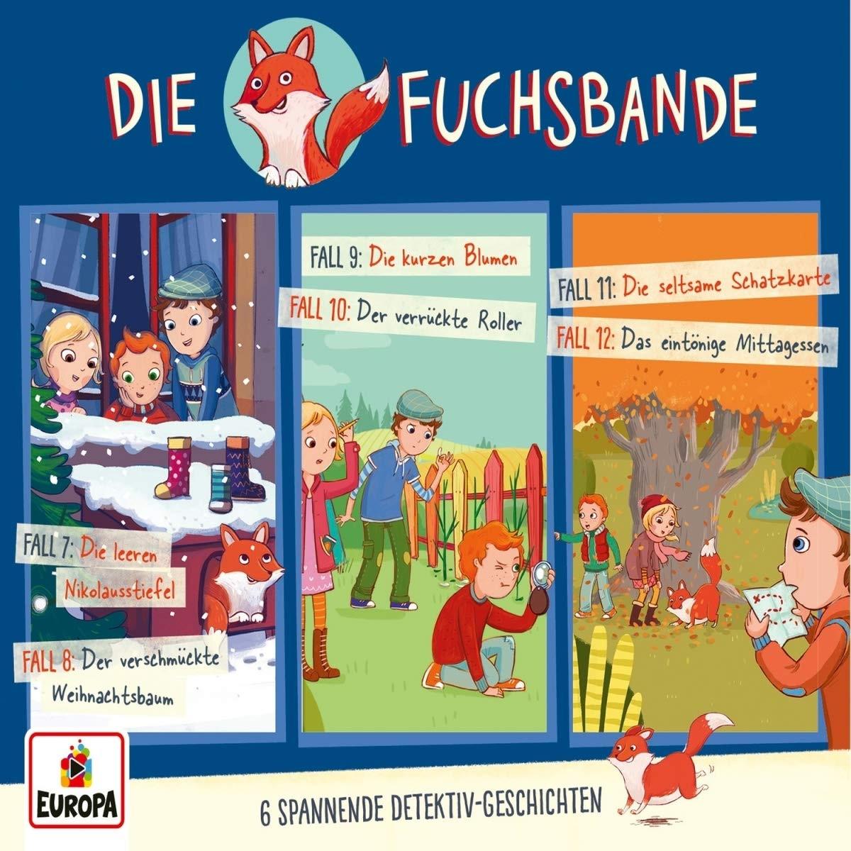 Die Fuchsbande 3er Detektiv-Box (Folge 4, 5, 6)