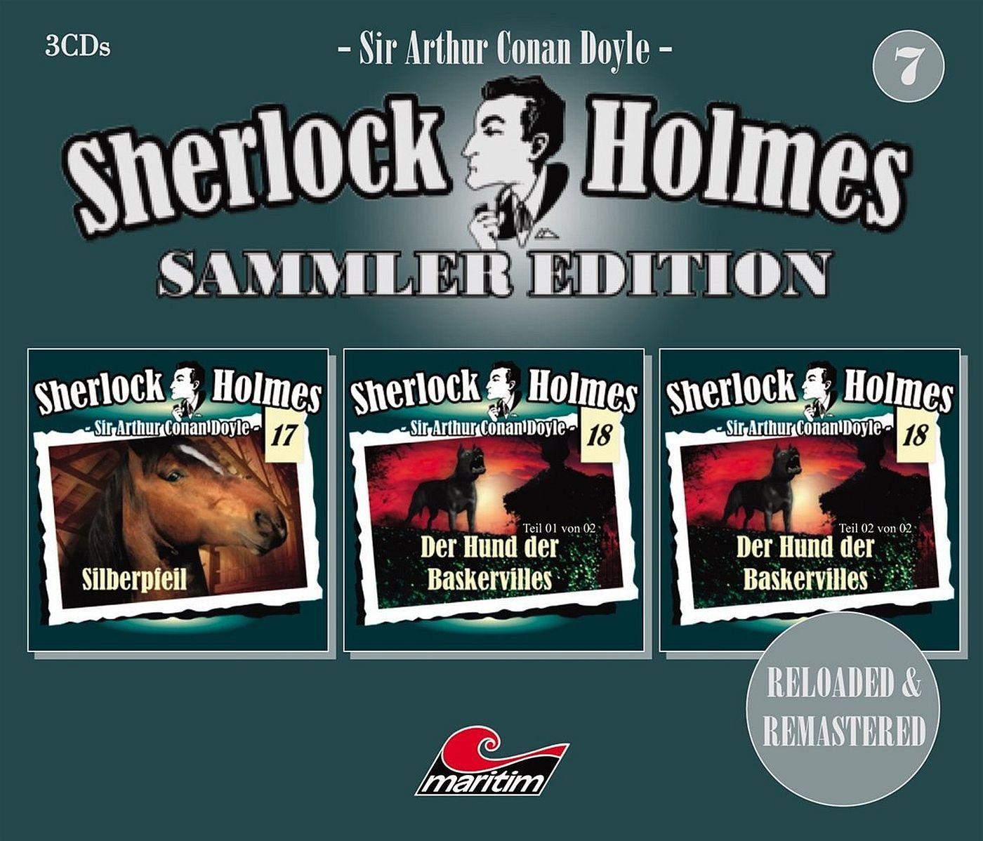Sherlock Holmes - Sammler Edition - Box 7 (Folge 17, 18, 19)
