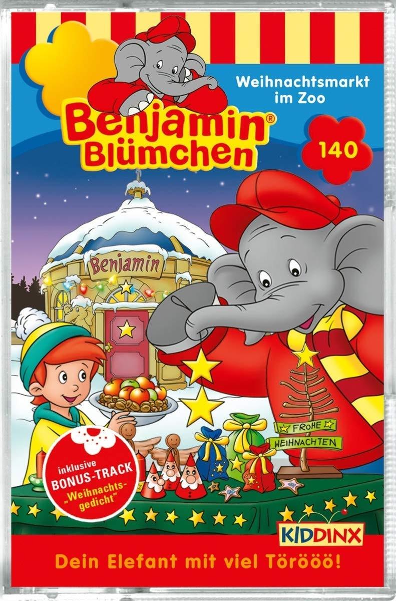 Benjamin Blümchen - Folge 140: Weihnachtsmarkt im Zoo (MC)