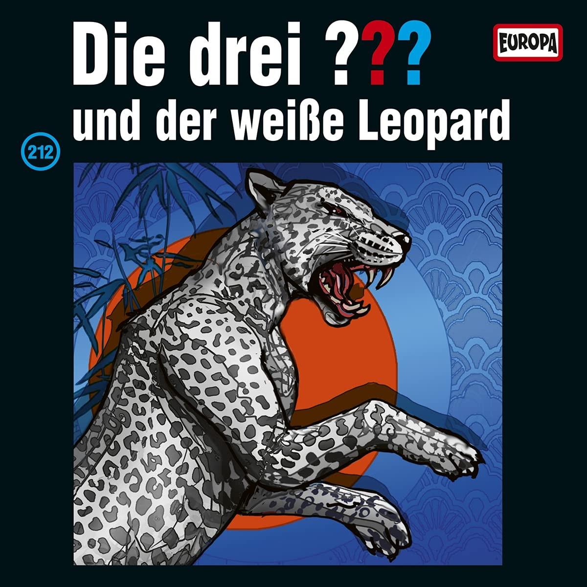 Die drei ??? Fragezeichen - Folge 212: und der Weiße Leopard (LP)
