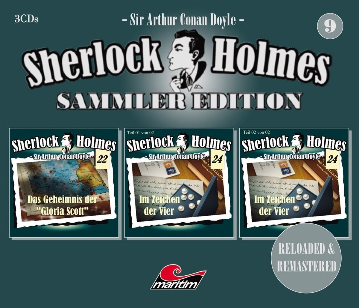 Sherlock Holmes - Sammler Edition - Box 9 (Folge 22, 24, 24)