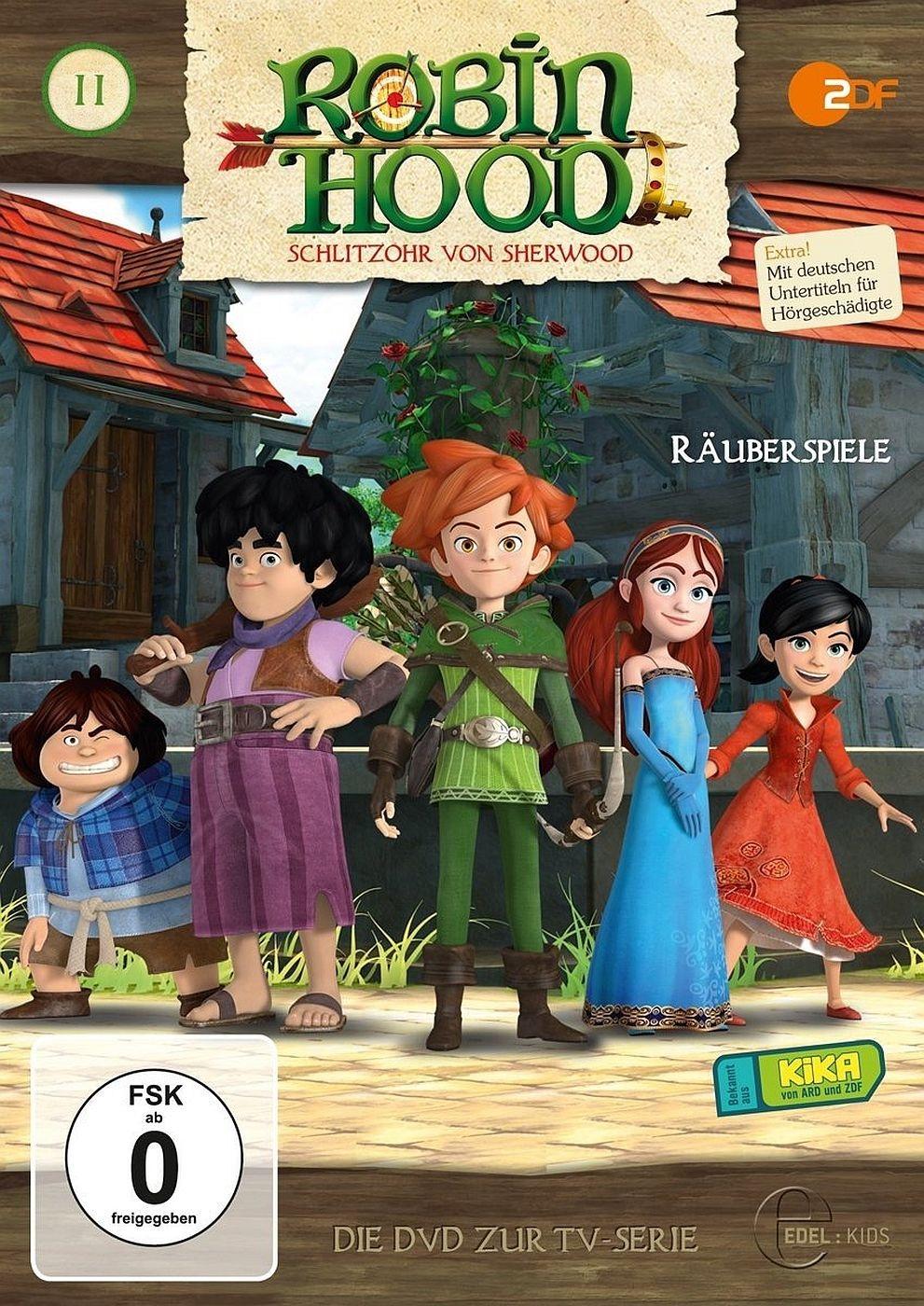 Robin Hood - Schlitzohr von Sherwood - Folge 11: Räuberspiele (DVD)