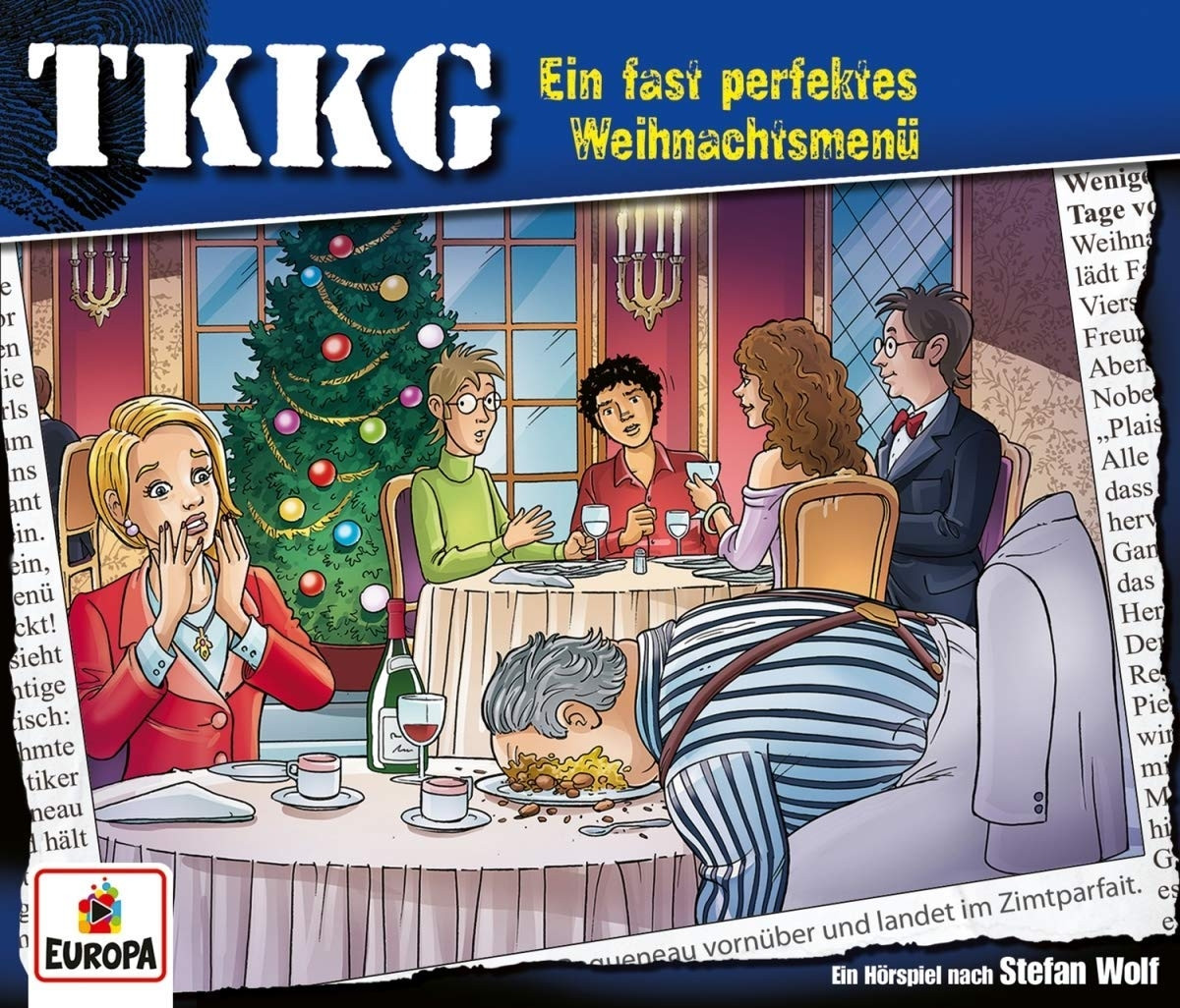 TKKG - Ein Fast Perfektes Weihnachtsmenü