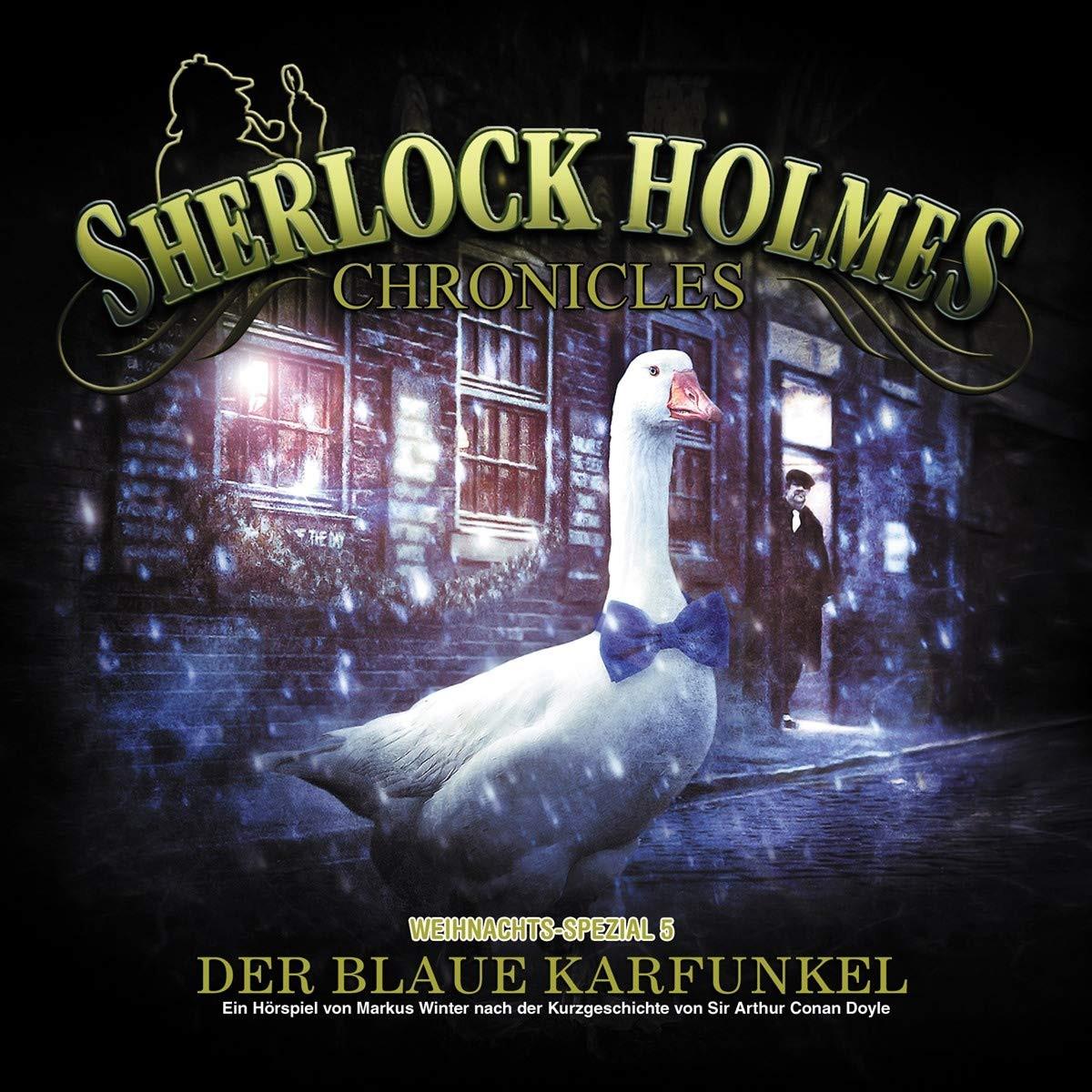 Sherlock Holmes Chronicles - X-MAS Special 5: Der blaue Karfunkel