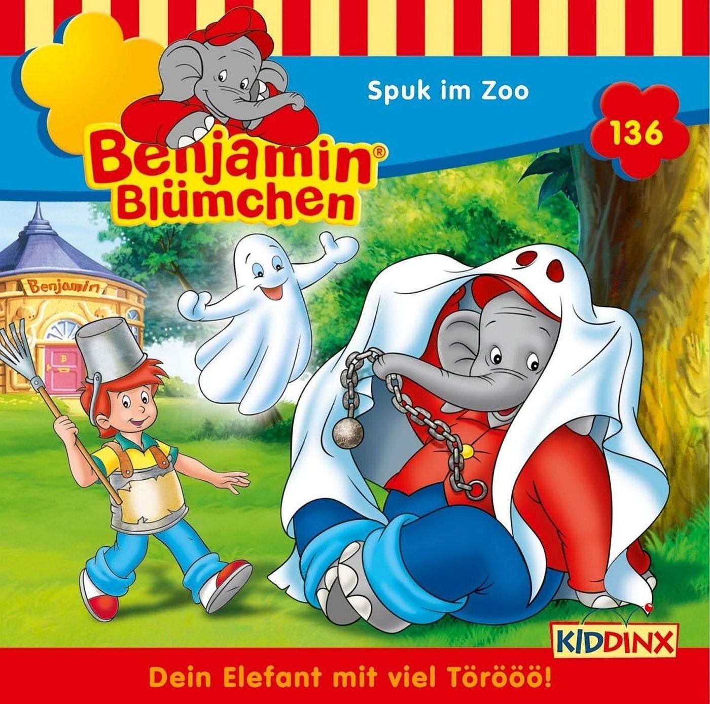 Benjamin Blümchen - Folge 136: Spuk im Zoo