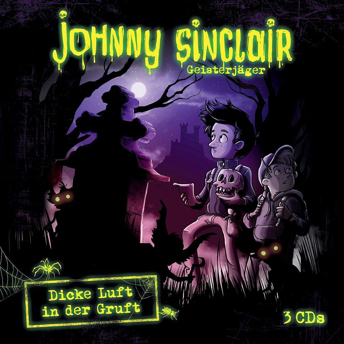 Johnny Sinclair - 3-CD Hörspielbox Vol.2 - Dicke Luft in der Gruft