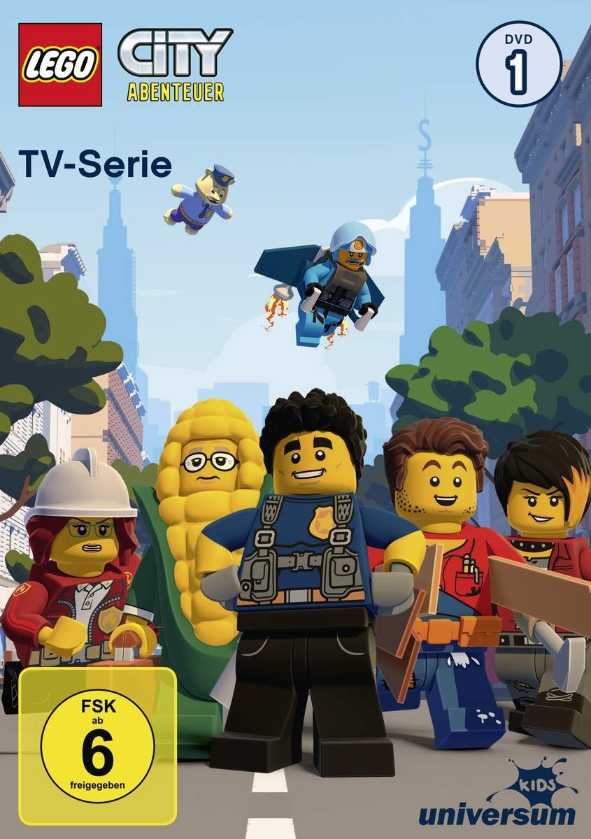 LEGO City Abenteuer - TV-Serie - DVD 1 (Staffel 1.1)