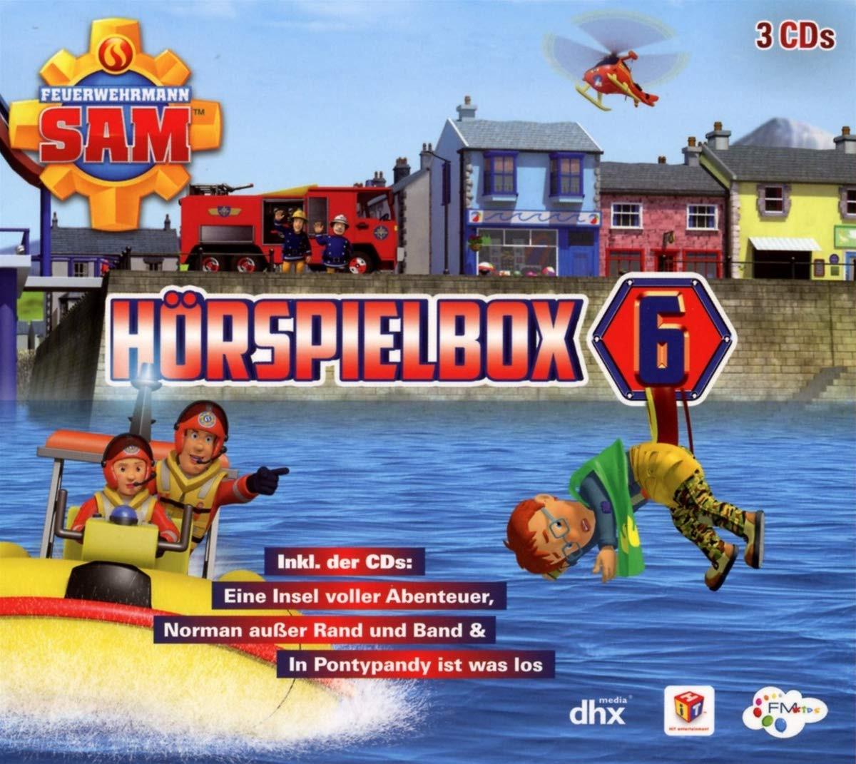 Feuerwehrmann Sam - Hörspiel-Box 6 (3 CDs)