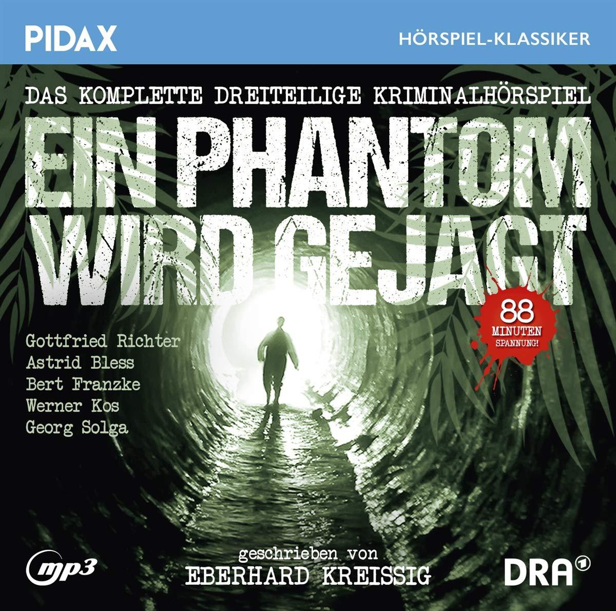 Pidax Hörspiel Klassiker - Ein Phantom wird gejagt