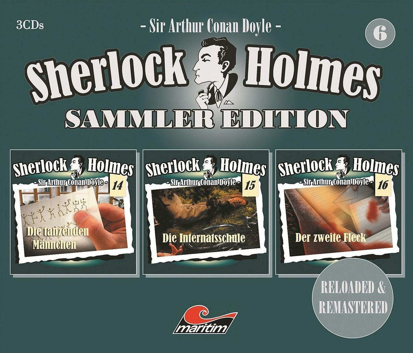 Sherlock Holmes - Sammler Edition - Box 6 (Folge 14, 15, 16)