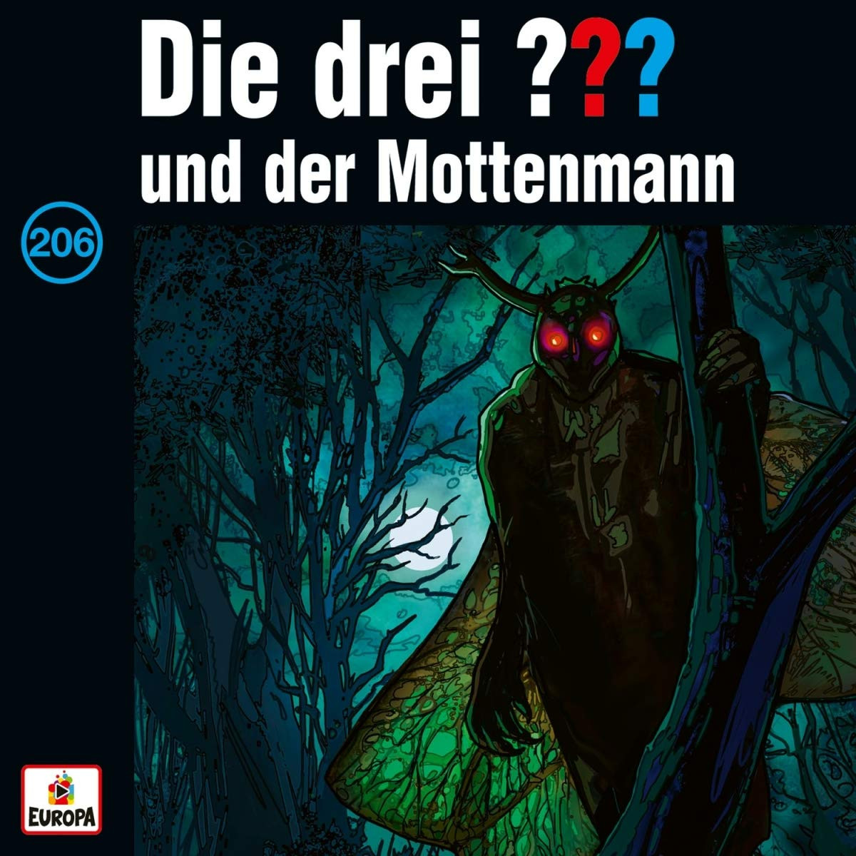 Die drei ??? Fragezeichen - Folge 206: und der Mottenmann (Vinyl LP)