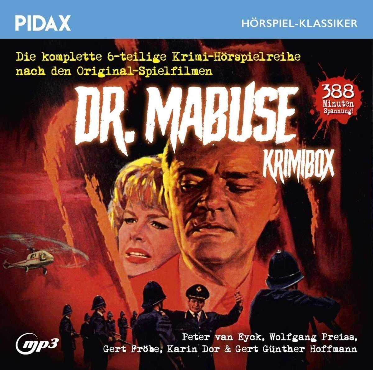 Pidax Hörspiel Klassiker - Dr. Mabuse - Krimibox