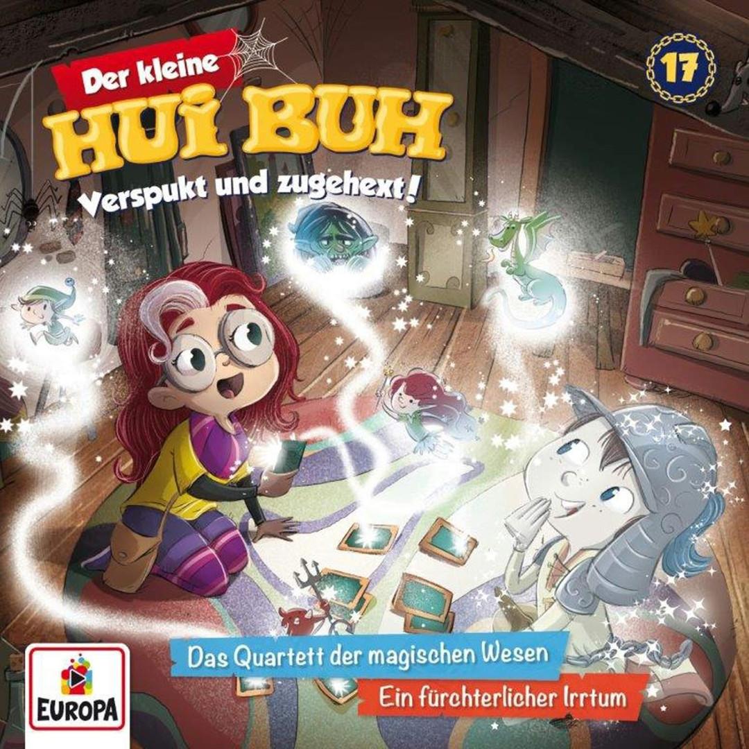 Der kleine HUI BUH - Folge 17: Das Quartett der magischen Wesen / Ein fürchterlicher Irrtum