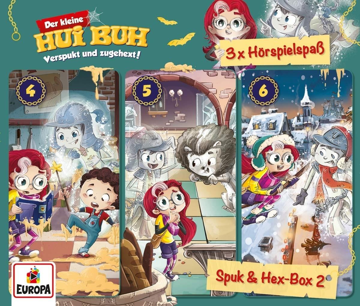 Der kleine HUI BUH - 3er-Box 2: Spuk und Hex-Box (Folgen 4, 5 ,6)