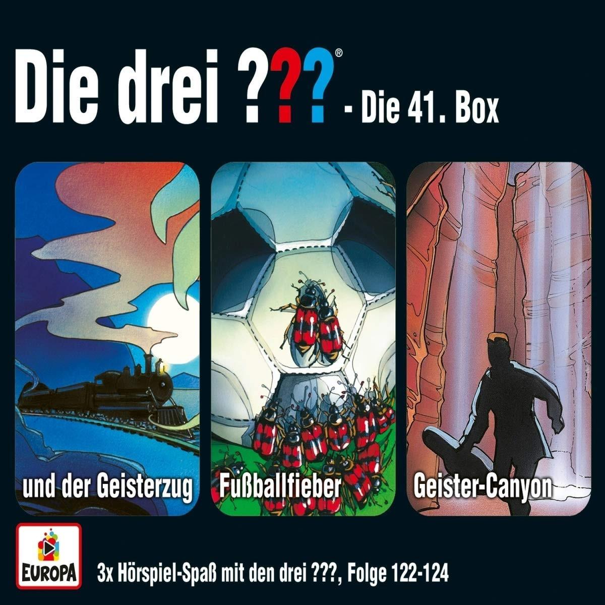 Die drei ??? Fragezeichen - Die 41. Box (Folgen 122, 123, 124)