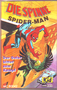 MC Polyband Spider-Man Die Spinne Der Geier bittet zum Kampf