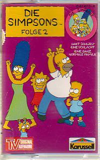 MC Karussell Die Simpsons Folge 2 Bart schlägt eine Schlacht
