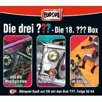 Die drei Fragezeichen Fan Box die 18. Folgen 52 - 54
