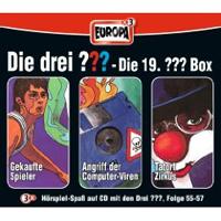 Die drei Fragezeichen Fan Box die 19. Folgen 55 - 57