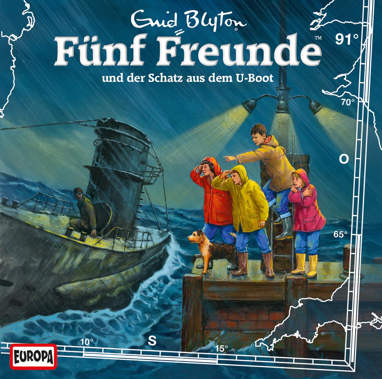 Fünf Freunde Folge 91 und der Schatz aus dem U-Boot