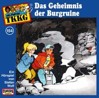 TKKG Folge 154  Das Geheimnis der Burgruine