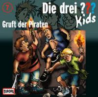 Die drei ??? Kids Folge 07: Gruft der Piraten