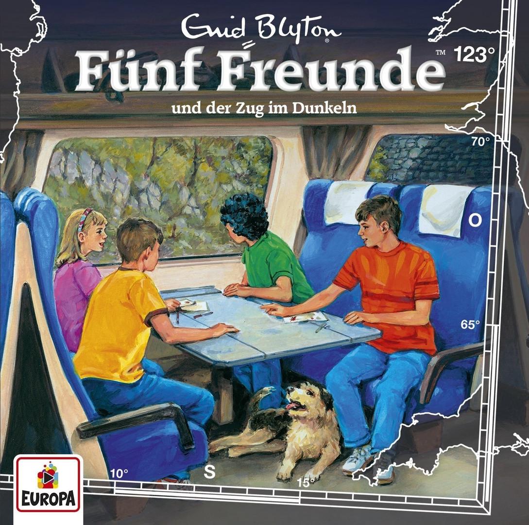 Fünf Freunde 123 Und der Zug im Dunkeln