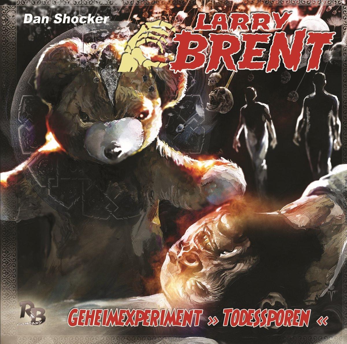 Larry Brent - Folge 25: Geheimexperiment Todessporen