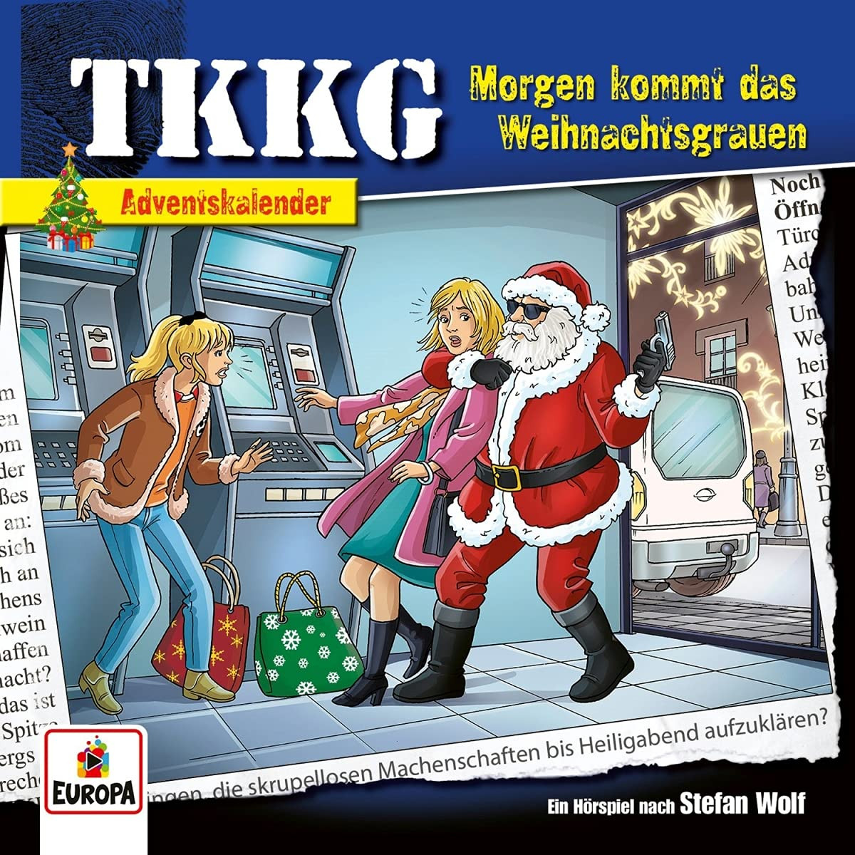TKKG - Morgen Kommt das Weihnachtsgrauen (Adventskalender)