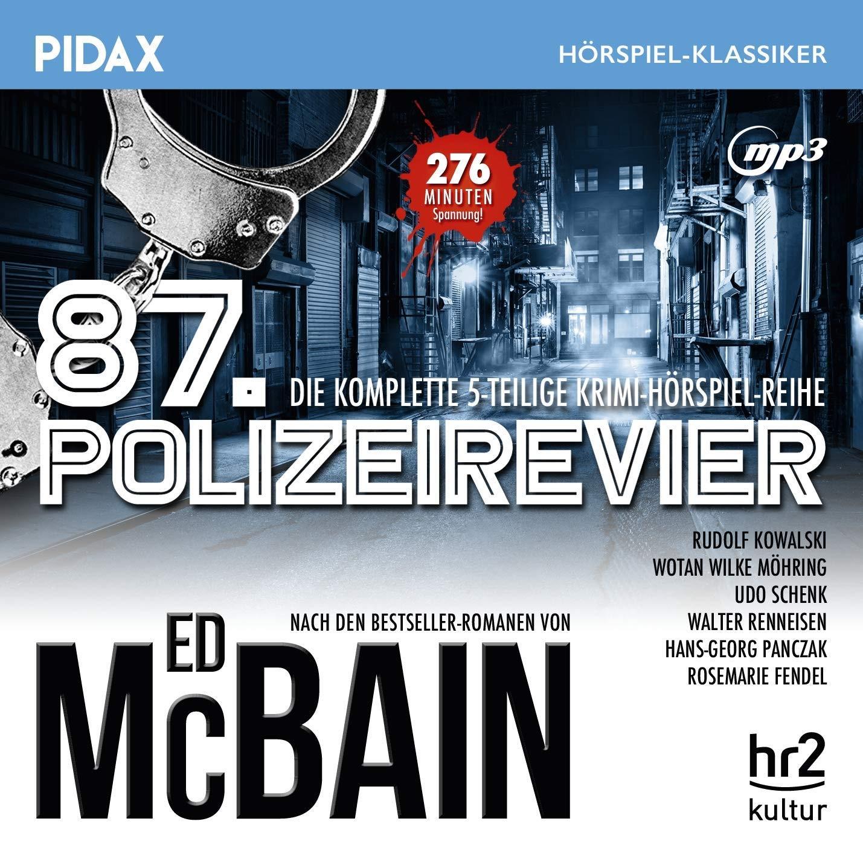 Pidax Hörspiel Klassiker - Ed McBain: 87. Polizeirevier