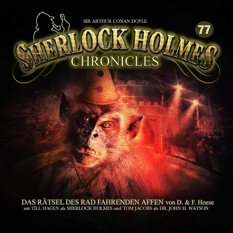 Sherlock Holmes Chronicles 77 Das Rätsel das Rad fahrenden Affen