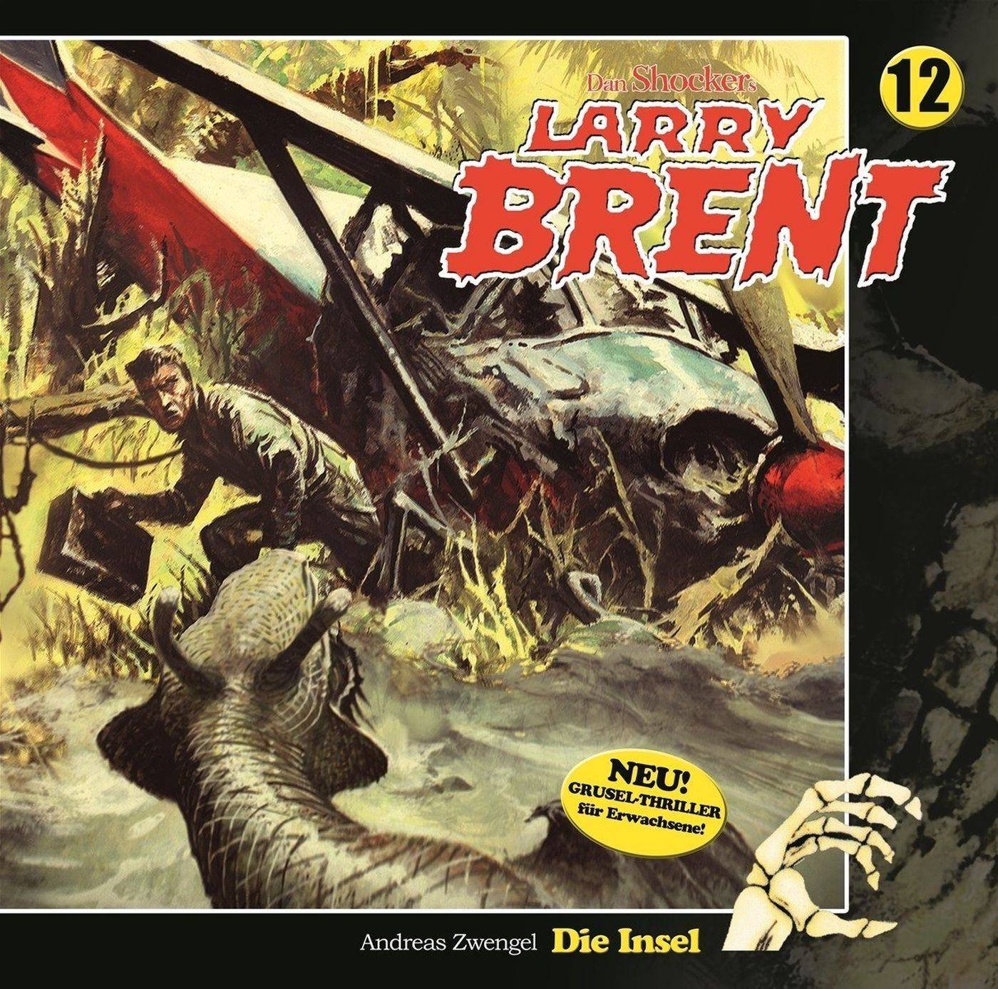 Larry Brent - Folge 12: Die Insel