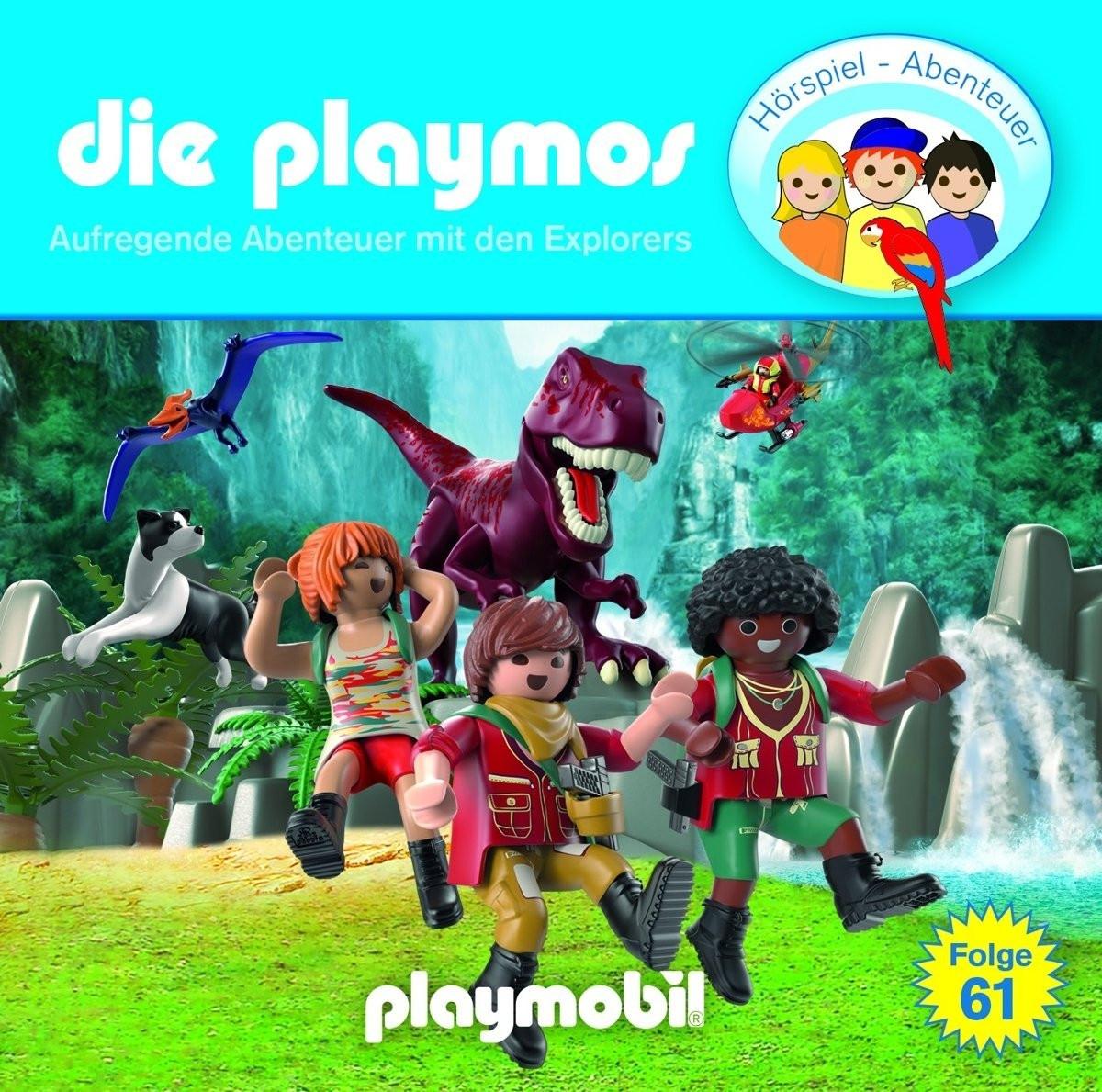 Die Playmos - Folge 61: Aufregende Abenteuer mit den Explorers