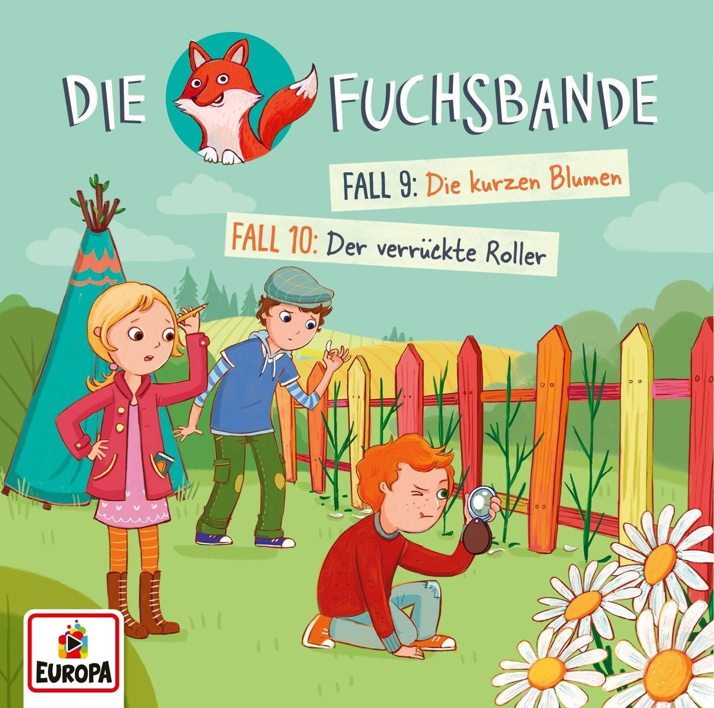 Die Fuchsbande - Folge 5: Fall 9: Die kurzen Blumen / Fall 10: Der verrückte Roller