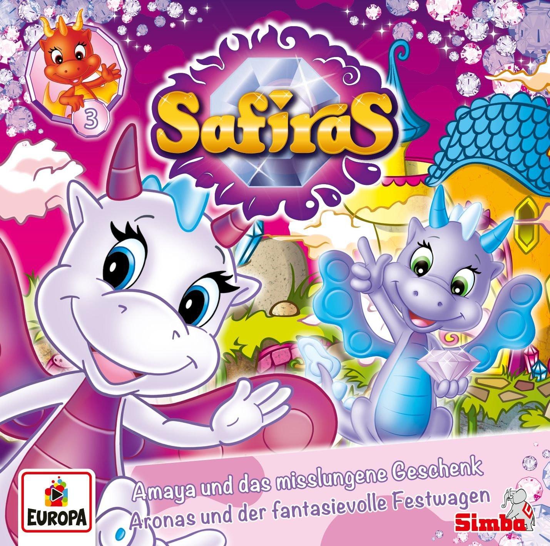 Safiras - Folge 3: Amaya und das misslungene Geschenk / Aronas und der fantasievolle Festwagen