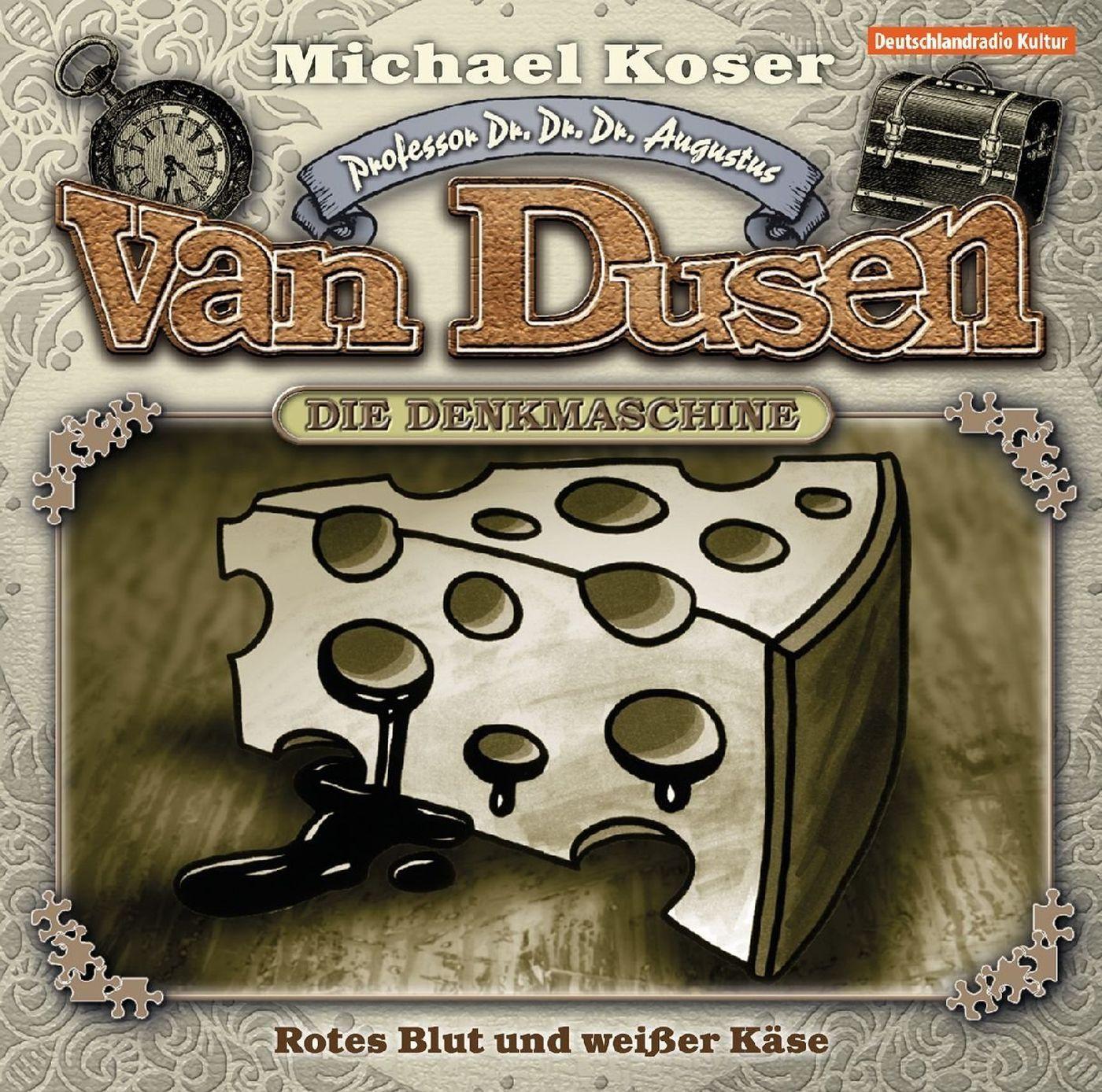 Professor van Dusen - Folge 14: Rotes Blut und weißer Käse