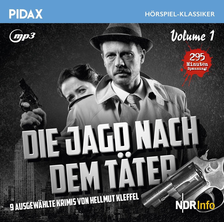 Pidax Hörspiel Klassiker - Die Jagd nach dem Täter - Vol. 1