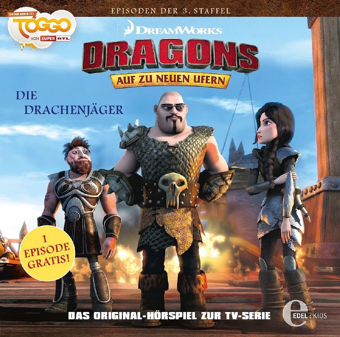 dragons auf zu neuen ufern folge 27 die drachenj ger. Black Bedroom Furniture Sets. Home Design Ideas